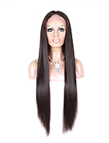 Brazilian  Straight Silky Virgin Human Hair Wigs Lace Front Glueless Lace front & Full Lace Natural Color Wigs