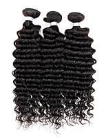 3 Stück Wogende Wellen Menschliches Haar Webarten Malaysisches Haar Menschliches Haar Webarten Wogende Wellen