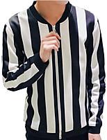 DMI™ Men's Mock Neck Striped Casual Jacket