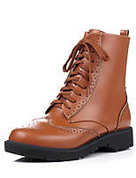 Women's Shoes  Fashion Boots / Combat Boots / Round Toe Boots Office & Career / Dress / Casual Platform Zipper