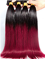 Top 8A Ombre braizilian Straight Hair Two Tone Hair Weave Colored brazilianVirgin Hair Ombre Bundles