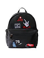 Flower Princess® Women Nylon Backpack Black-1510BN001