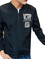 DMI™ Men's Mock Neck Letter Casual Jacket