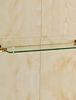 Bathroom Shelf / Polished Brass / Wall Mounted /60*15*10 /Brass /Antique /60 15 1.686