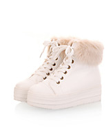 Women's Shoes  Fashion Boots Boots Outdoor / Office & Career / Casual Platform Lace-upPink / White /&C80