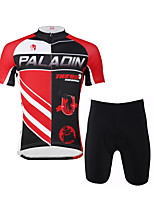 PaladinSport Men 's Cycyling Jersey + Shorts Bike Suits for DT632 The Devil