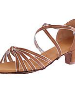Women's Dance Shoes Synthetic Dance Sneakers Heels Heel Indoor Customizable