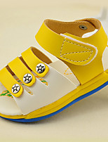 Boy's Summer Comfort / Open Toe / Sandals PU Casual Flat Heel Others Blue / Yellow / White