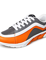 Men's Spring / Fall PU Casual Flat Heel Others Green / Red / Orange Sneaker