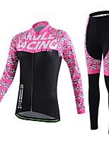Deportes Ciclismo Tops / Prendas de abajo / Sets de Prendas/Trajes / Camiseta / Pantalones / Chándal / Traje de compresión / MediasMujer