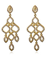 Hot Sale For Four Seasons Style Long Pendant Earrings Brand New Fashion Jewelry 18K gold Plated Drop Earring