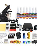 mini-alimentation simple, simple bobinage machines costumes matériel de tatouage pigment 7 (poignée couleur de livraison aléatoires)