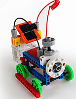 Children's educational science model solar toy building blocks 156 DIY