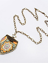 Street Beat Fashion Jewelry Necklace Pattern Shield