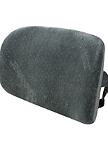 43*28 Velvet and Cotton Car Seat Back Gray