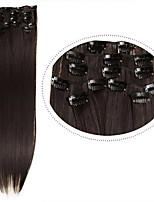 pinza de pelo barato en extensiones de pelo sintético 22