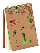Korean Style Simple Hard Cover Notebook for Student or Office (color random)