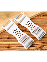 Multifunctional Fruit&Vegetable Peeler Easy Cut Stainless Steel / Plastic Grater & Peeler