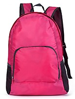 Unisex-Casual-Nylon-Backpack-Blue / Green / Red