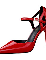 Women's Shoes  Summer Heels Heels Dress Stiletto Heel Buckle Black / Red / Silver / Nude / Beige / Bronze