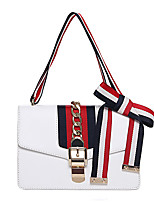 Women-Formal / Casual / Event/Party / Office & Career / Shopping-PU-Shoulder Bag-White / Red / Black