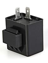 turno segnale elettrico lampeggiatore lampeggiatore relè 12v 2 pin per moto (2 pezzi)