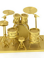 Love To Fight Metal Diy Assembly Model 3D Three-Dimensional Puzzle Rack Drum