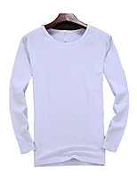 2016 spring and autumn men's long sleeve T-shirt Korean slim Crewneck SHIRT MENS thin clothes