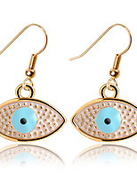 Punk Style Nightclub Fashion Shine Big Eyes Earrings