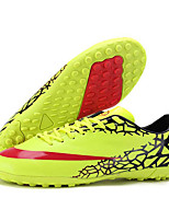 ailema Men's Football Sneakers Spring Cushioning / Wearproof / Breathable Shoes Yellow / Green / Red / Sky Blue