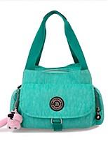Women-Outdoor-Nylon-Shoulder Bag-Purple / Green / Fuchsia