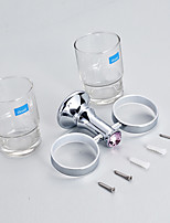 Toothbrush Holder / Toothbrush Cup / Chrome / Wall Mounted /30*10*12 /Zinc Alloy /Contemporary /30 10 0.269