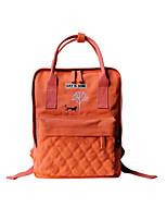 Flower Princess® Women Canvas Backpack Orange-1512BS00102