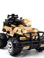Buggy HX 4CH 1:16 Brush Electric RC Car 5KM/H 2.4G Brown Ready-To-GoRemote Control Car / Remote Controller/Transmitter / Battery Charger