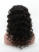 Peruvian Virgin Hair Loose Deep Wave Full Lace Wig For Beauty Cheap Glueless Full Lace Human Hair Wigs With Baby Hair