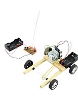 diy handmade material science and technology model electric remote control car