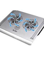CMPICK Aluminum Alloy Notebook Cooling Base Pure Aluminum USB