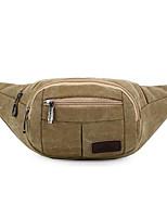 Men-Formal-PVC-Waist Bag-Khaki