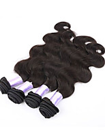 Hot Sale 4pcs/lot Body Wave Brazilian Virgin Human Hair Weave Weft Unprocessed Natural Color Hair Extensions