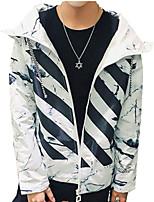 DMI™ Men's Hoodie Striped Casual Jacket