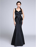 TS Couture®Formal Evening Dress Trumpet / Mermaid Straps Floor-length Satin with Side Draping