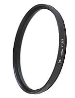 EMOBLITZ 49mm UV ultravioleta filtro protector de lente negro