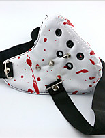 Tokyo Ghoul White With Blood Rivet Mouth Mask PU Leather