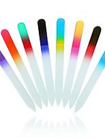 1pcs Bona Fide Beauty Crystal Nail Files  Czech Glass Nail Files with (Random color)