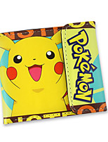 Pokemon wallet Cartoon image PU wallet