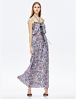 Heart Soul® Women's Strap Sleeveless Maxi Dress-11AA17364