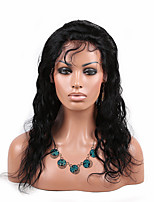 Eva wigs Peruvian virgin hair  lace front wig heavy density natural color water wave lace wigs for fashion black women