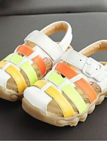 Boys' Shoes Casual Leather Sandals Summer Comfort / Open Toe Hook & Loop Blue / Yellow / White