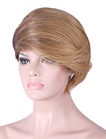 European and American Wig Short Hair Female Partial Hair Style Personality Face Wig 8inch