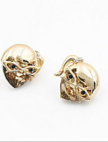 Masked Girl Cool Diamond Earrings Fine Jewelry